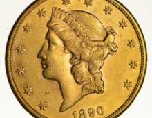 20 Dollar Gold 1890