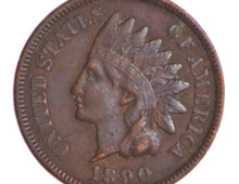 Indian Head Penny 1890